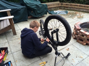 Picture of cycle repairs